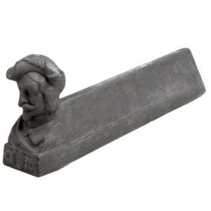 Alari in Ghisa A134 Coppia Busto Uomo