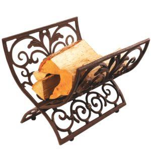 Portalegna in Ghisa L115 Ruggine Corten style