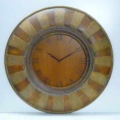 Orologio antico da Parete V162 sopra Camino Legno