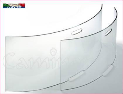 Parascintille Temperato P137L vetro Curvo