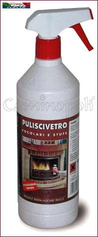 Puliscivetro spray per Camini e Stufe Z101