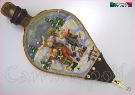 Mantice con decorazione natalizia M109