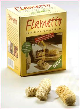 Accendifuoco Ecologico in lana di legno X103-50 Flametto