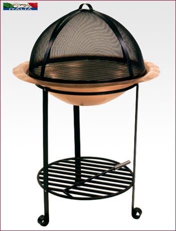 Barbecue in rame e ferro V123