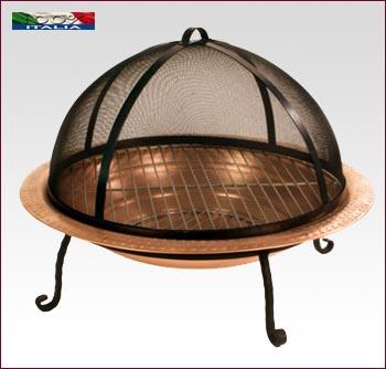 Barbecue in rame e ferro V124