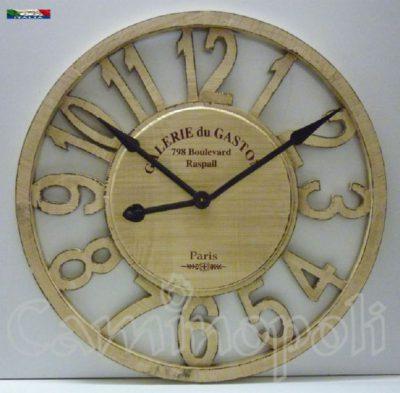 Orologio da Camino in legno V138 a Muro Parete