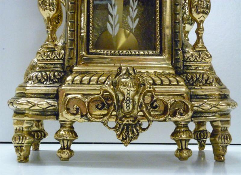 Nikky home piccolo orologio da tavolo al quarzo in metallo vintage regalo decorazione per la - Orologi antichi da tavolo ...