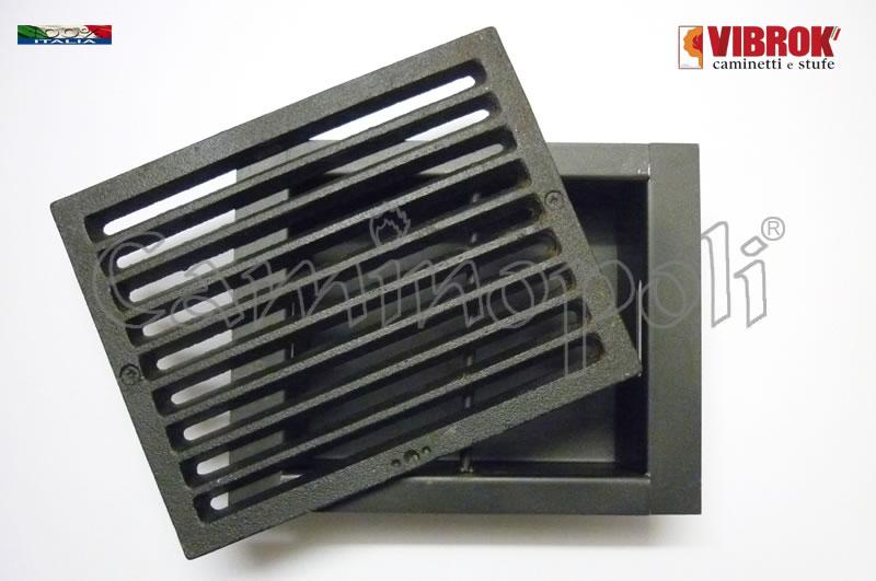 Griglia e Cassetto cenere Vibrok G300-S-VIB