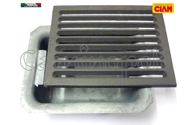 Griglia e Cassetto Cenere G300-3-CLAM