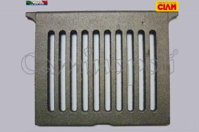 Griglia in Ghisa Cenere G300-4-CLAM 20X24 Favilla Pivot