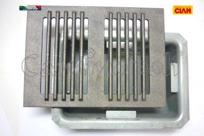 Griglia e Cassetto Cenere G300-7-CLAM