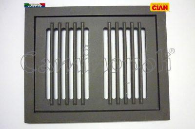 Griglia con Cassetto e Cornice Cenere G300-8-CLAM 25X32