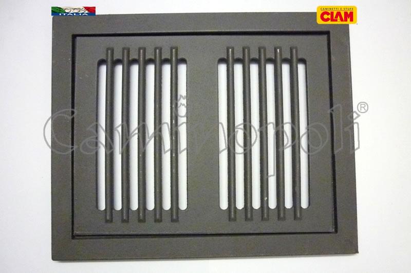 Griglia con Cassetto e Cornice Cenere G300-8-CLAM