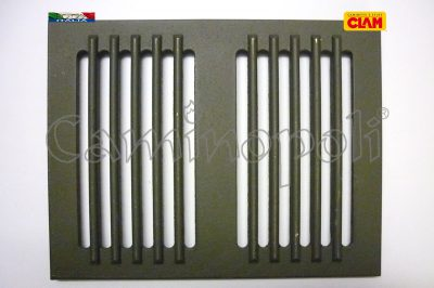 Griglia in Ghisa CLAM G300-9-CLAM 25X34