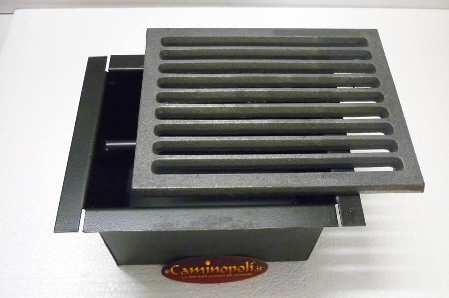 Griglia e Cassetto cenere Camino G300-KIT-A