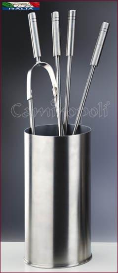 Set di attrezzi MODERNO S159 in Acciaio inox